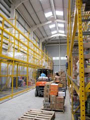 Whitchurch Supercentre Dominica High Bay Warehouse Example
